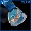 Kundenspezifische Medaille billig Sport Metall Medaillen Großhandel