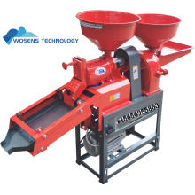 Small rice mill machine for rice milling