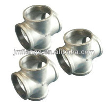 Forged High Pressure Threaded Pipe Fitting stainless steel threaded cross