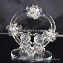 Hot sale best quality lovely crystal teddy bear for decoration