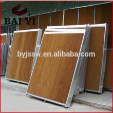 Equipamento Agrícola Sistema de Ventilação e Arrefecimento Recheio de refrigeração da casa de frango com cortina molhada