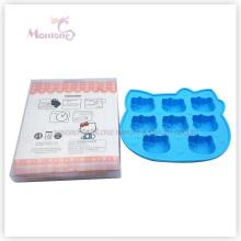Hello Kitty Cat-Shaped Ice Mold Cube Maker Ice Cube Tray