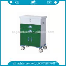 AG-GS004 Nouvelle conception vert foncé chariot à outils de revêtement de puissance