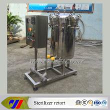 Retorta vertical do esterilizador do aquecimento elétrico