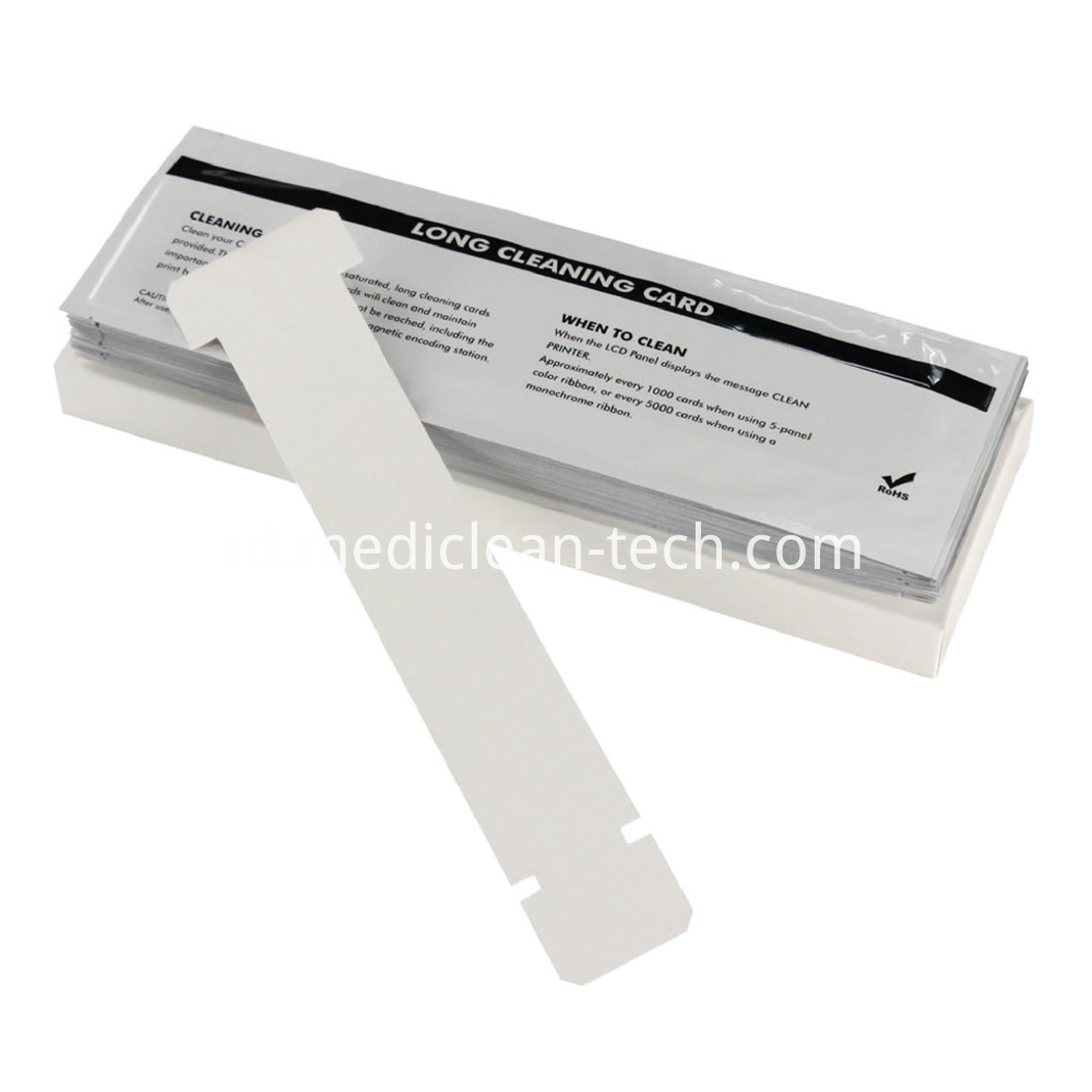 Zebra Long T Cleaning Cards 330mm