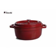 Plat en casserole émaillé en casserole