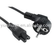 Câble adaptateur AC/DC pour ordinateur portable pour le câble d'alimentation pour ordinateur portable