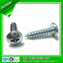 10#*19 Carbon Steel Round Head Screw for furniture