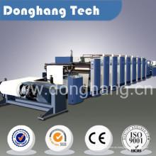 Máquina de impresión flexográfica de papel Kraft de gran formato