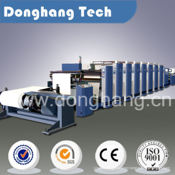 Large Format Milk Carton Flexo Printing Machinery