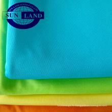 Tissu en tricot de polyester interlock DTY AA de qualité 75D72F pour vêtements
