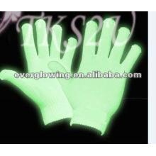 favor de fiesta brillar en los guantes oscuros