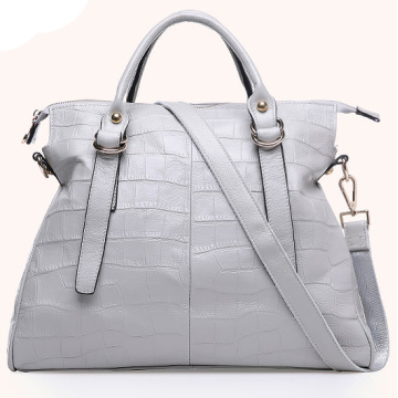 Top Quality Low Price PU Bags Tote Designer Woman Handbag with SGS (ZX10266)