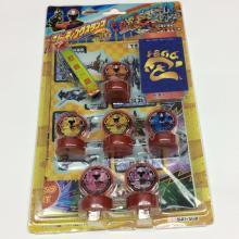 plastic ninja team mini stationery stamp set