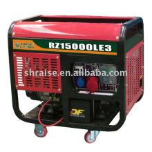 Дизельный генератор с воздушным охлаждением с открытой рамой