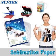 A3 A4 Roll Sublimation Transferpapier für Keramik Becher T-Shirt