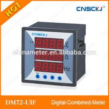 2014 caliente DM72-UIF trifásicos Medidores Combinados Digitales