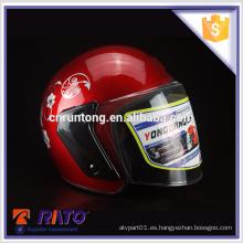 Casco de moto ABS de calidad superior mini gratis