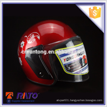Top quality mini free ABS motorcycle helmet