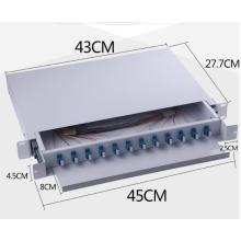12 Port Fiber Optic Patch Panel