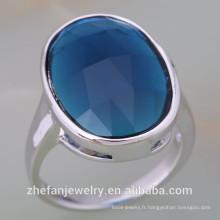 Bijoux zhefan mini-ordre Alibaba Meilleure Vente 925 en argent sterling une pierre bague de remise
