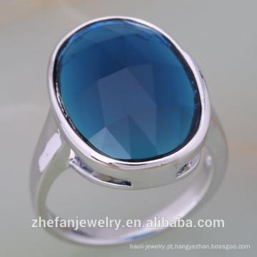 Jóias zhefan mini ordem Alibaba Best Selling 925 prata esterlina um anel de desconto de pedra