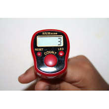 Led Digital Promotional Gift Ring Muslin Digital Electric Counter