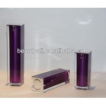 Cosméticos cuadrados de lujo Acrylic Airless Pump Container 15ml 30ml 40ml 50ml 80ml 100ml 120ml
