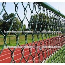 Stadium mit PVC beschichtet Kettenglied Zaun