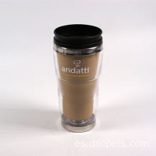 taza de café de doble pared para marca