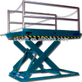 Stationary electric 2t mini hydraulic low rise car scissor lift