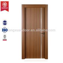 Intérieur porte en PVC porte battante / porte de salle de bain en PVC