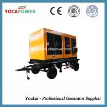 Электрический звукопоглощающий дизельный генератор 375кВА с двигателем Shangchai