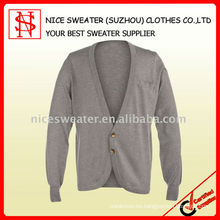 Suéter de seda de moda hombre
