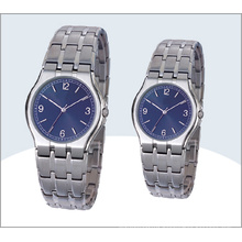 Stainless Steel Couple Watches and Quartz Watch 15192