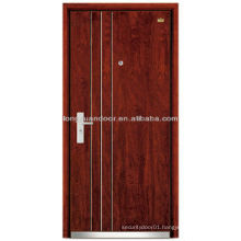 Factory Custom Soundproof Steel Wood Armored Door, with Thick Theft-proof Door Frame