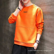 New Long-Sleeved Fashion Letter Student Pullover Hoodie