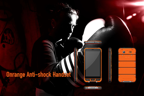 Orange Anti-shock Handset