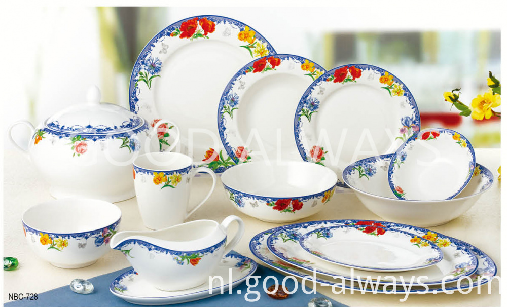 New Bone China Tableware