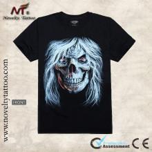 Y-100207 Cool Alarming Pattern - Luminous Tattoo T-shirt Tshirt