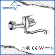 Chromed Brass Shower Faucet with Ss Long Spout (AF1194-2A)
