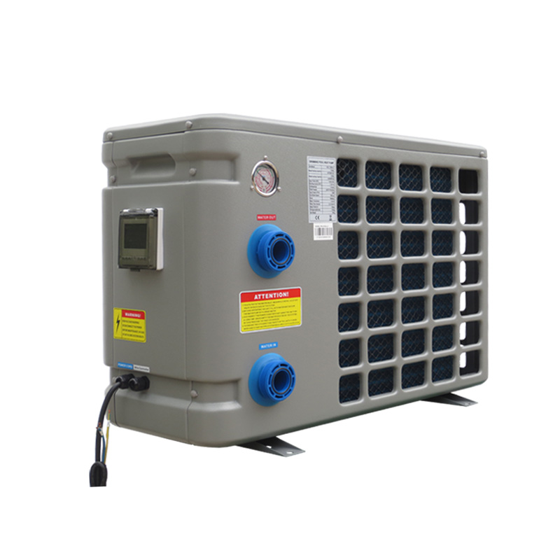 OSB inground pool heat pump