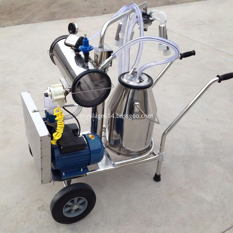 Stainless Steel Bucket Milking Machine