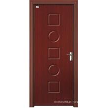 Porta do MDF do bom preço com folheado do PVC (AL-8012)