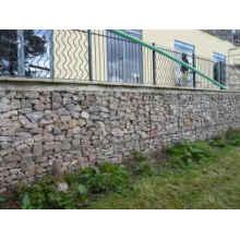 Prevención de la corriente Scour galvanizado de acero Gabion Stone Cage