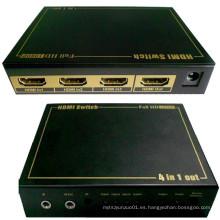 Conmutador IR 4X1 HDMI