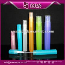 100% ninguna botella plástica de la bomba de la filtración, botella de perfume cristalina, botella del aerosol
