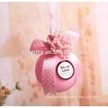 Promotional clear christmas bauble ornament