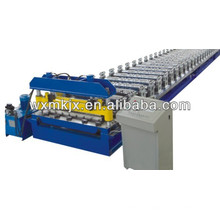 Colored steel arc panel roll forming machine