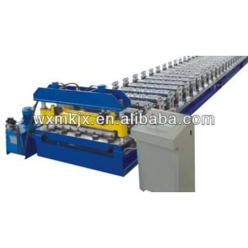 Rollo de panel de arco de acero de color que forma la máquina